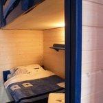 Кровать в мужской комнате
