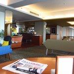 Executive lobby view 2