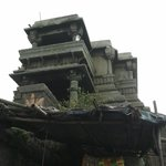 There is a special marble temple dedicated to him here, and a black marble statue of him. The Ma