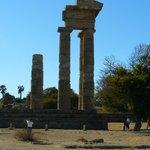 temple d'Apollon à Rhodes