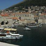zicht op Dubrovnik
