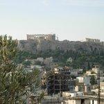 Colazione con vistra sull'Acropoli