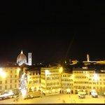 magnifica Florencia desde la terraza