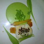 Excellent Catfish and Pea main course - sublime