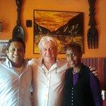 """colazione con gli amici con gli amici al ristorante etiope """"africa"""""""