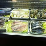 Wide selection of Fish & Seafood