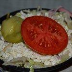 Small salads to start....