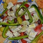 Village Salad - bring your appetite!
