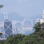 bank of china tower - grattacielo visto da victoria peak
