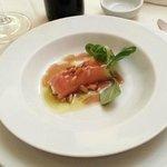 2º plato, Rulo de salmon y queso