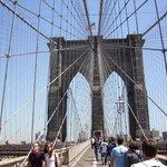 En opplevelse å gå over Brooklyn Bridge