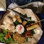 La cena indonesia