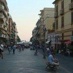 Corso Reginna, Richtung Lungomare