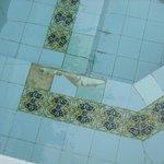 spa tiles broken