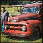 ole rusted ford pickup