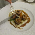 veal, truffles and risotto