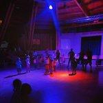 L'arena durante la babydance serale