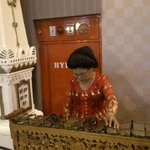 gamelan performed by old woman