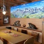 Front Bar area - Bellevue Hotel Murren