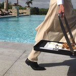 Poolside service