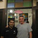 Sherif Khan the perfect waiter