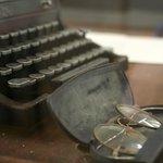 Hemmingway's Typewriter & Glasses