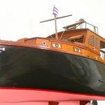 Model of Hemmingway's Boat