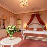 Chambre de luxe vue Paris