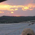 SUNSET ON GT BAY