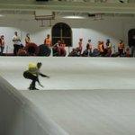 Foto da pista artificial de esqui