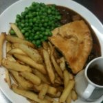 homemade steak and ale pie