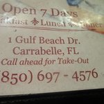 Information on Two Al's Restaurant - Carrabelle, FL
