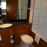 Sink & Toliet in Bathroom