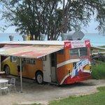 Food Truck on Enterpirse Beach