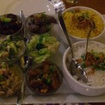 The restaurant speciality - low/medium spicy