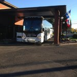 Here is the Greyhound Bus as proof