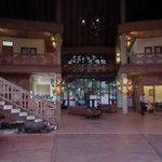 Lobby WiFi area