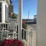 View from the porch at the Blue Dory Inn