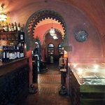 inside the amazing restaurant