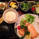 Awsome lunch. Very fresh and all well made. 15 euro for the lunch set. Yummy miso soup too! I wa