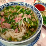 PHO, with the delicious perfume of fresh coriander