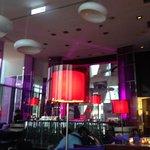 Bar on top floor