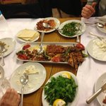 The perfect turkish food served at Adana Il Siniri