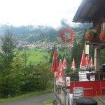 Deck looking toward Grindelwald   - Marmobruch