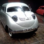 One of the Art Deco Cars seen at the Frist