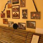Kinofreunde aufgepasst - Cinema Paradiso Wand von Franco im Foyer