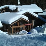 Main Chalet from back