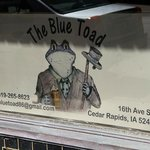 The Blue Toad