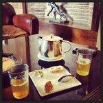 thé à la menthe de bienvenue