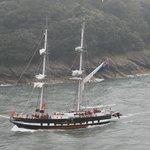 The Royalist Sailing past